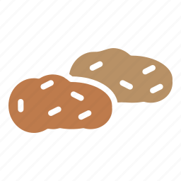 autumn, food, potato, sweet, thanksgiving, vegetable icon