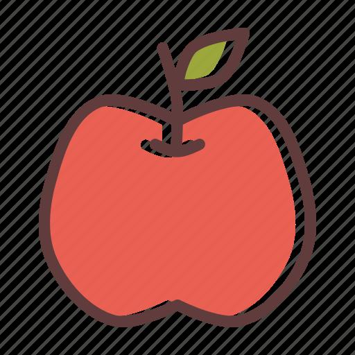 apple, fruit, thanksgiving icon