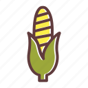 autumn, corn, food, sweet, thanksgiving, vegetable icon