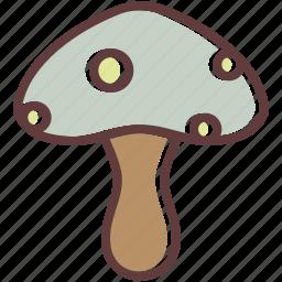 autumn, food, mushroom, thanksgiving, vegetable icon