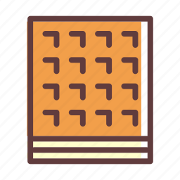 biscuit, dessert, sweet, thanksgiving, waffle icon