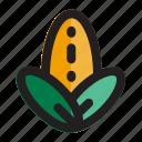 agriculture, cob, corn, eco, farm, food, thanksgiving icon