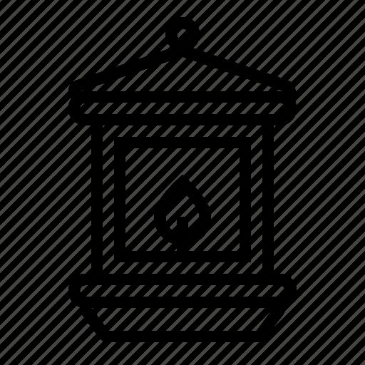 autumn, holiday, lantern, thanksgiving, turkey icon icon