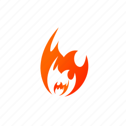 blaze, burn, energy, fire, flame, hot icon
