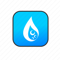 drop, liquid, nature, water icon