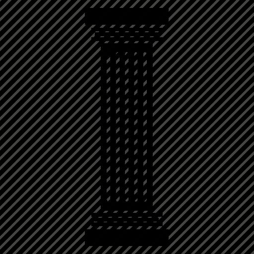 architecture, art, building, column, construction, museum icon