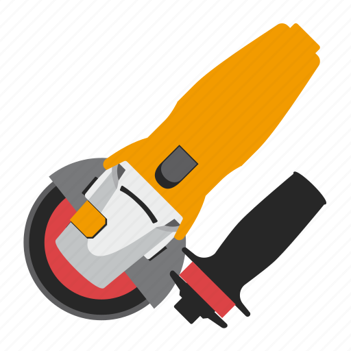 angle grinder, repair, tool, tools icon