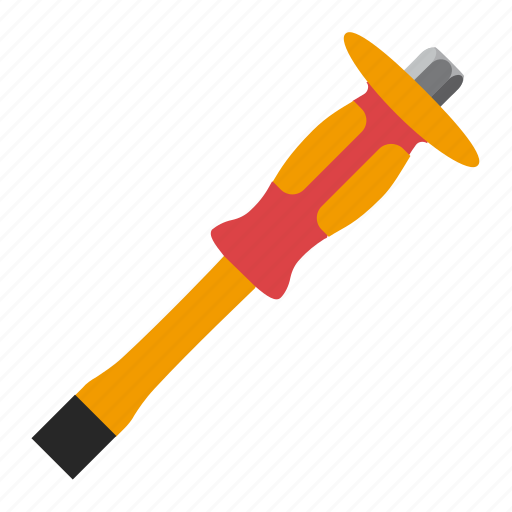 chisel, tool, tools, work icon