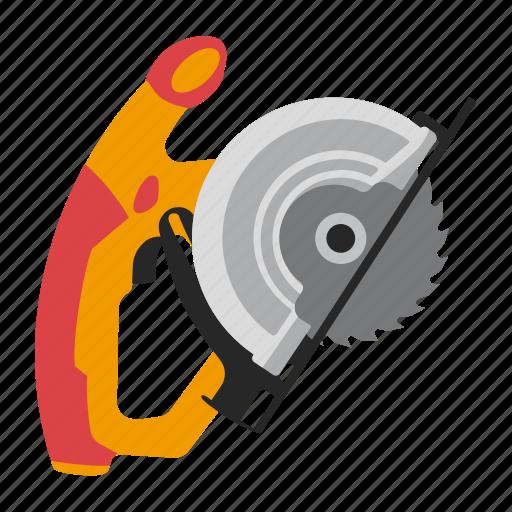 circular, saw, tool, tools icon