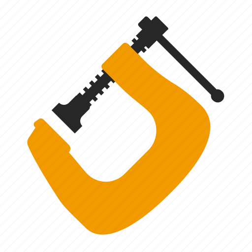 clamp, tool, tools, work icon