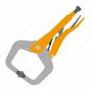 crimping, pliers, tool, tools icon