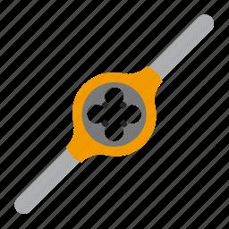 dies, threading, tool, tools icon