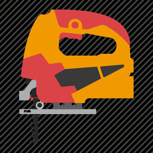 electric, jigsaw, tool, tools icon