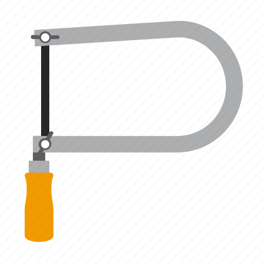 fretsaw, tool, tools, work icon
