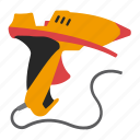 fusible, gun, tool, tools icon