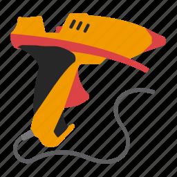 fusible, gun, tool, tools icon