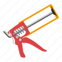 building, gun, tool, tools icon