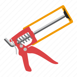 building, gun, tool, tools icon