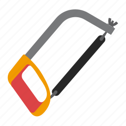 hacksaw, tool, tools, work icon