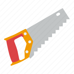 hacksaw, saw, tools, wood icon