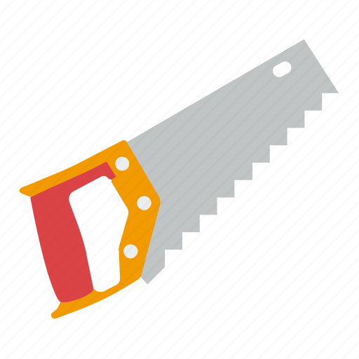 hacksaw, saw, tools, wood icon