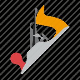 jack, jointer, plane, tool icon