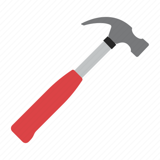 hammer, tool, tools, work icon