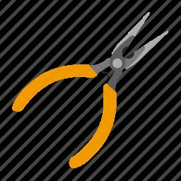 needle, pliers, tool, tools icon