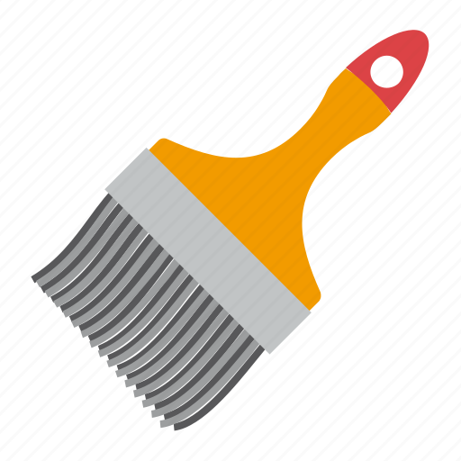 brush, paint, tool, tools icon