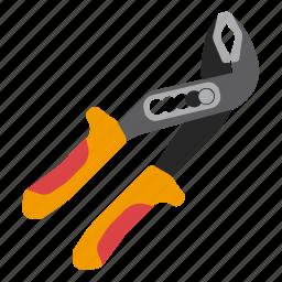 pliers, pump, tool, tools icon