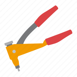 gun, rivet, tool, tools icon