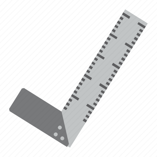 ruler, setsquare, tool, tools icon