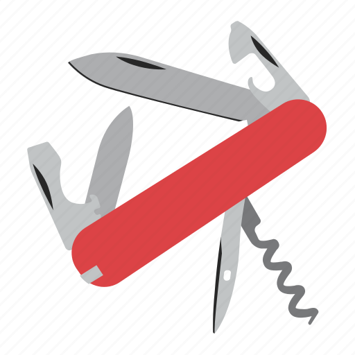 knife, swiss, tool, tools icon