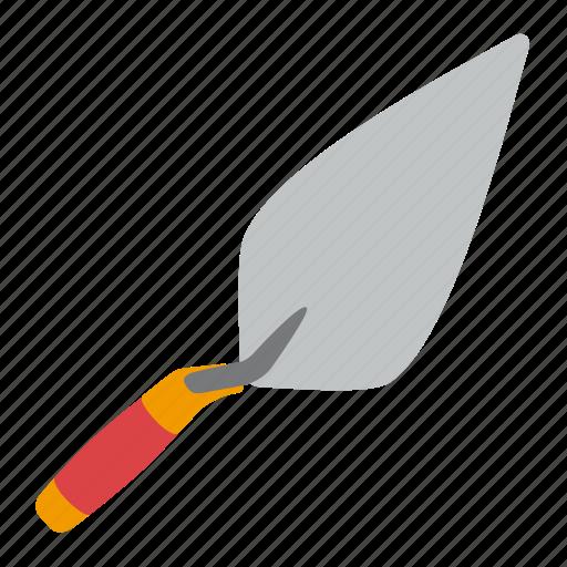 building, tool, tools, trowel icon