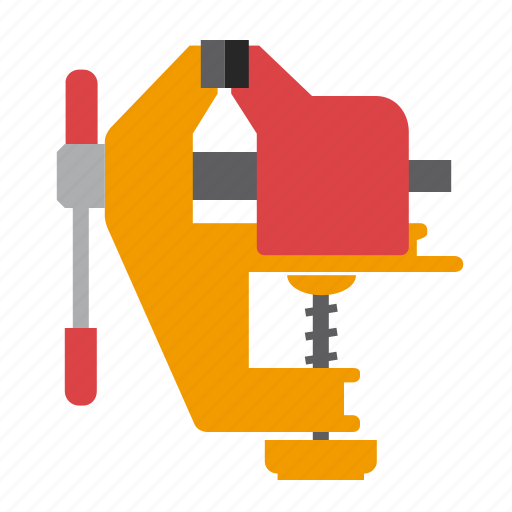 grip, tool, tools, vice icon