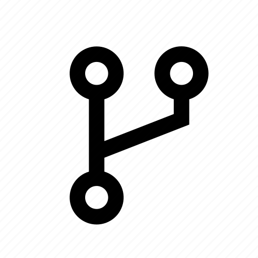 branch, copy, duplicate, grow, open, split icon