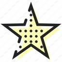 award, favorite, star icon