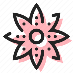 flower, nature, plant icon