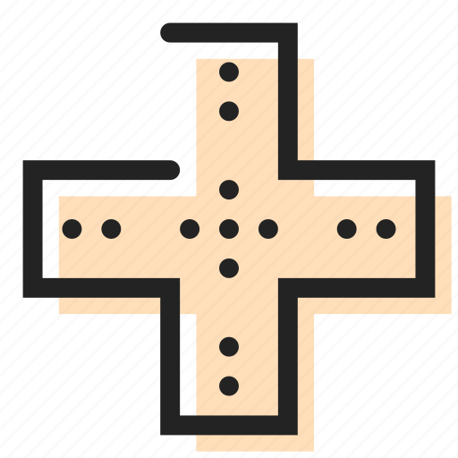 cross, health, medical icon