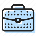 briefcase, business, suitcase icon