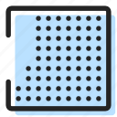badge, rectangular, square icon