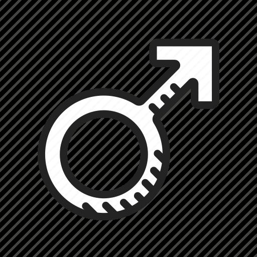 male, mars, sex icon