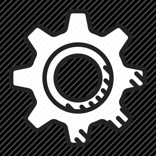 cog, cogwheel, gear icon