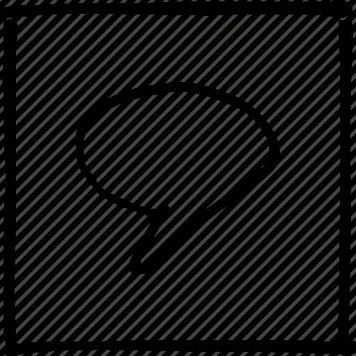 chat, comment, communication, conversation, messenger, scribbler, talk icon