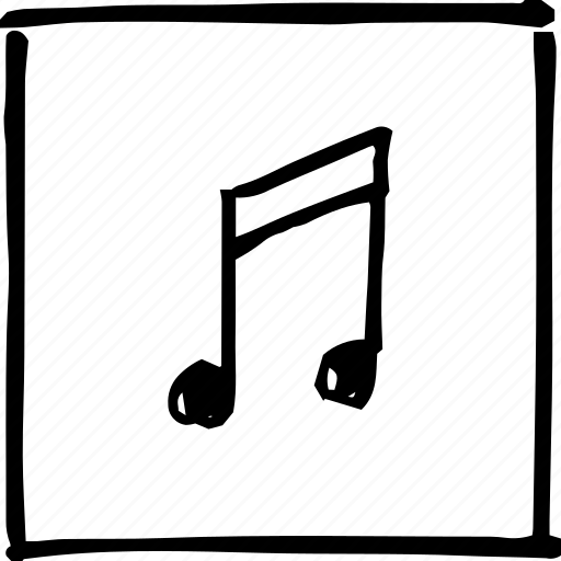 audio, music, note, scribbler, tone, tune, volume icon