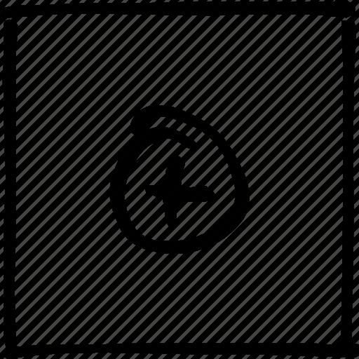 cross, handmade, maximize, more, plus, round, scribbler icon