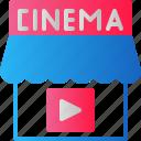 cinema, entertainment, film, media, movie, multimedia, theater icon