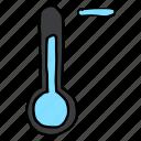 cold, forecast, minus, temperature, thermometer, weather, decrease