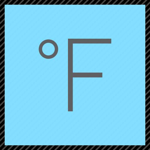 degree, fahrenheit, forecast, temperature, weather icon