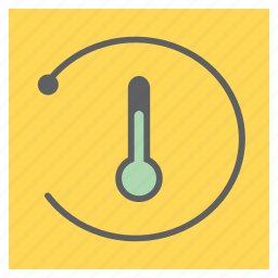 forecast, refresh, reload, temperature, thermometer, weather icon
